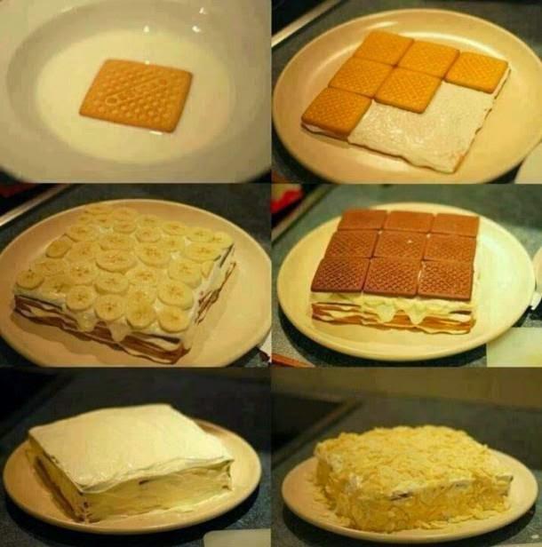 Muzlu bisküvili kek tarifi