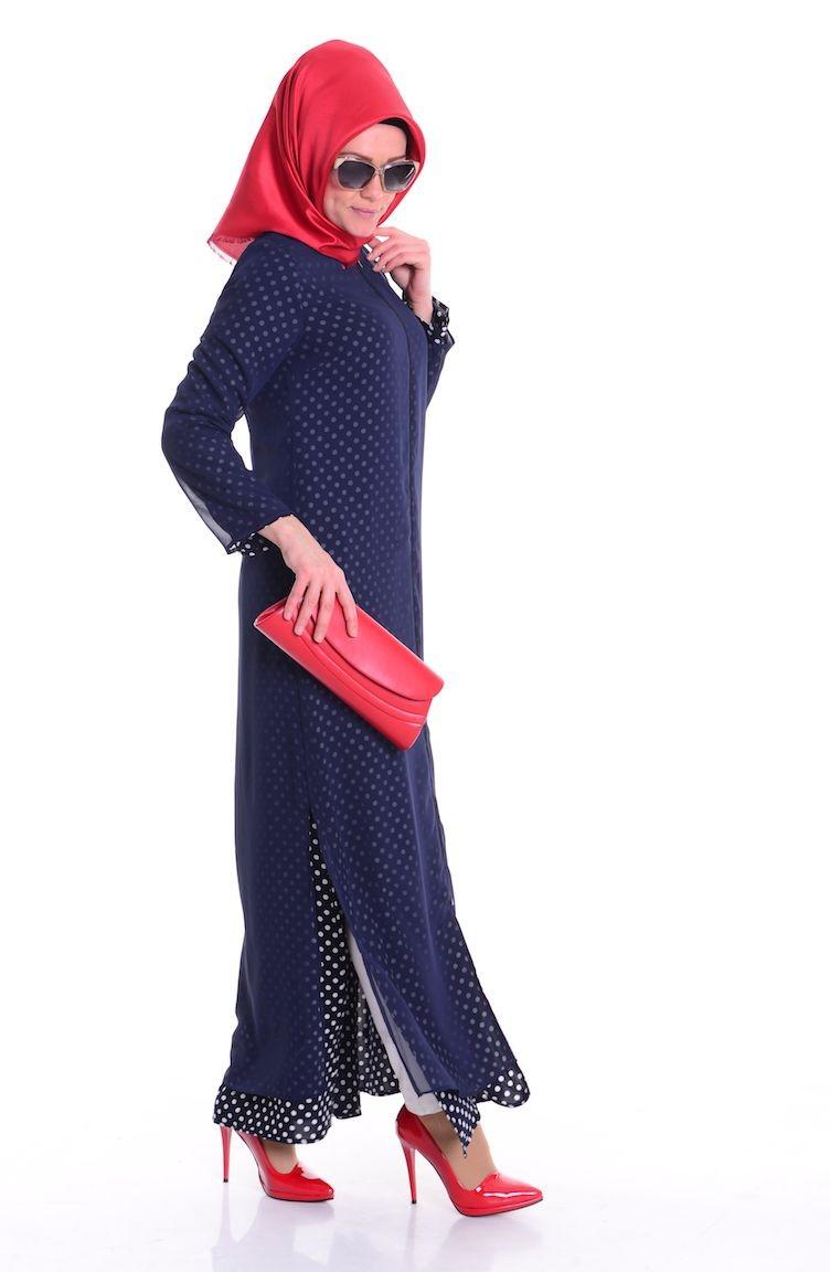 Renkli abaya