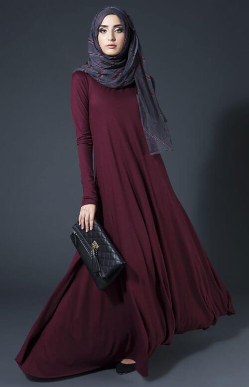 2017 renkli abaya
