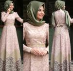 Annahar 2017 tesettür elbise