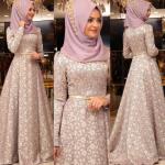 Pınar Şems brokar abiye