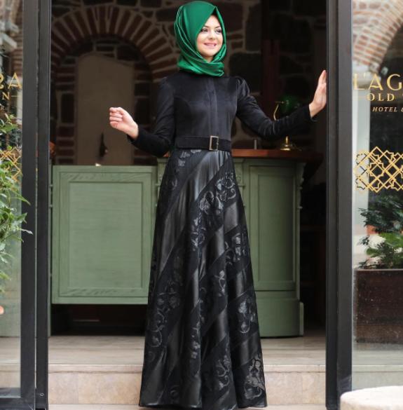 Pınar Şems kışlık abiye