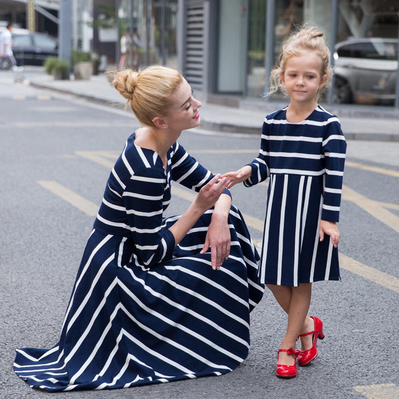 Anne kız elbise