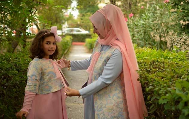 Yeni sezon Anne kız kıyafetleri