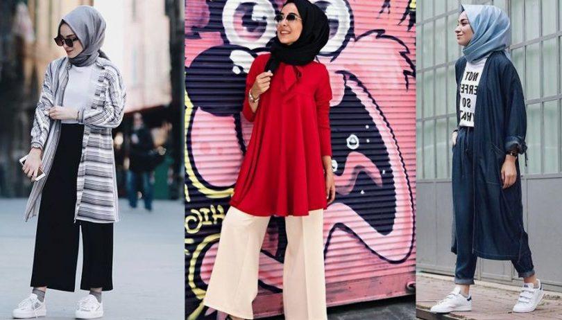 77eb8b8713efb 2018 Tesettür Giyim Modası Renkli Geçecek