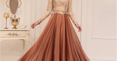 2018 moda tesettür abiye
