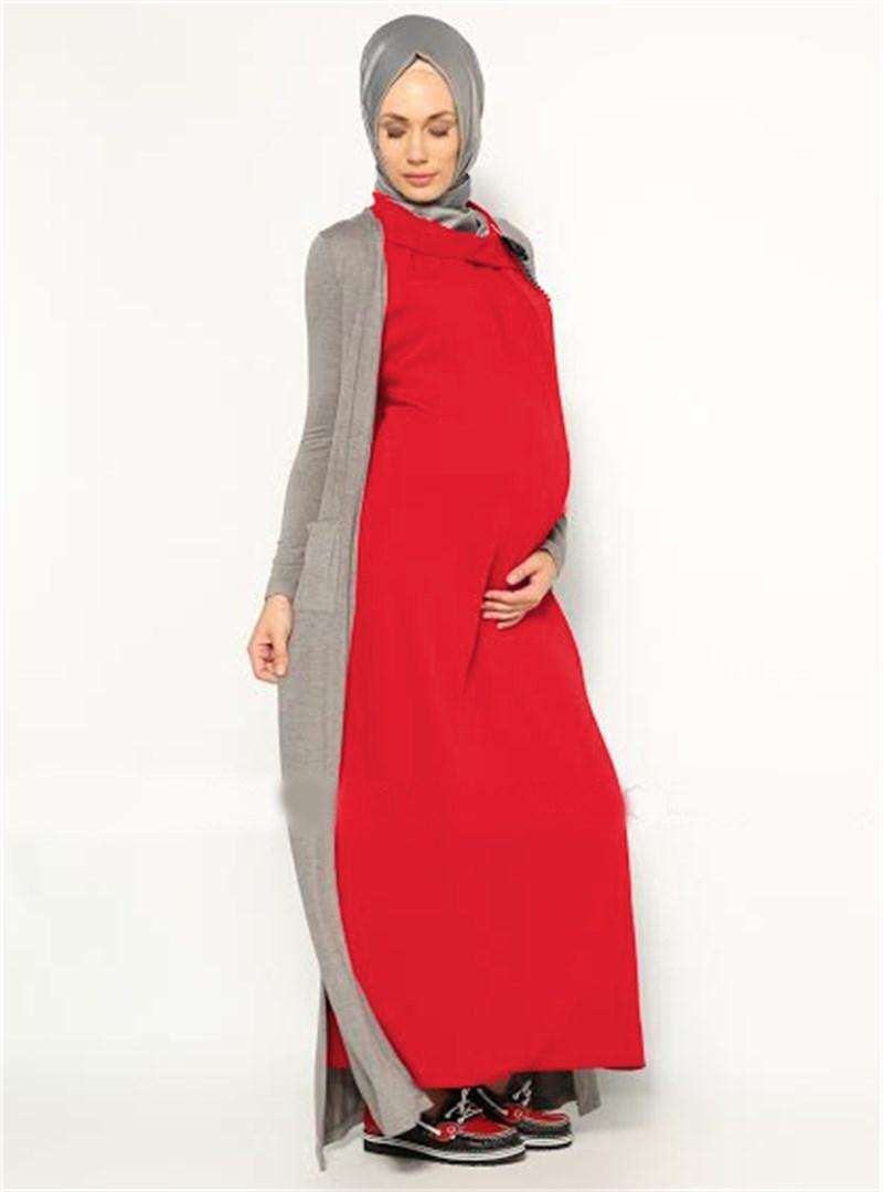 Yeni Sezon Hamile Elbise Modelleri