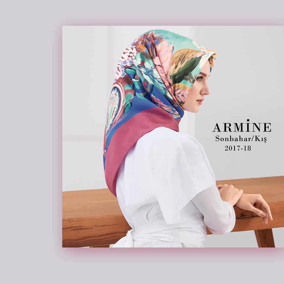 2018 Armine ipek eşarp