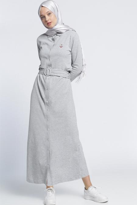2018 genç tesettür elbise