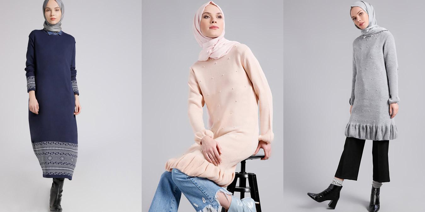 2019 Sonbahar Kış Tunik Modelleri