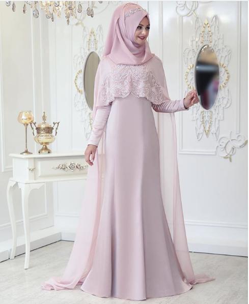 Pınar Şems pelerin abiye