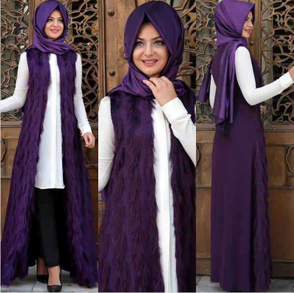 Pınar Şems püsküllü yelek