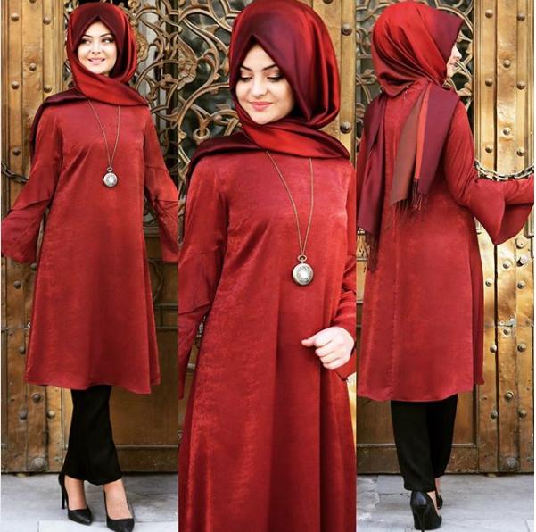 Pınar Şems volanlı tunik