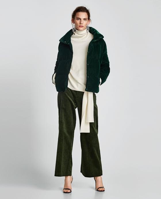 Zara şişme ceket