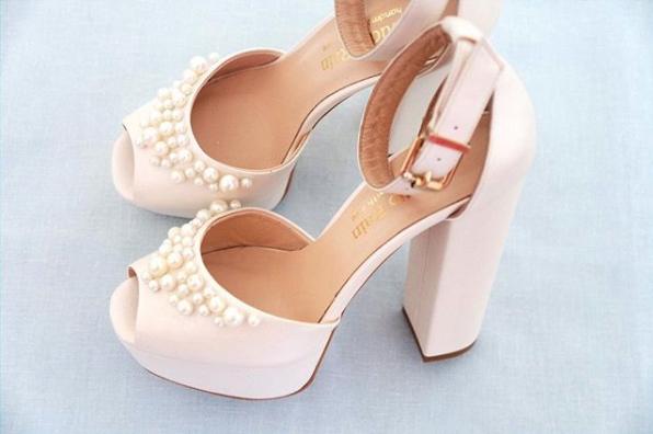 Gelin ayakkabısı 1