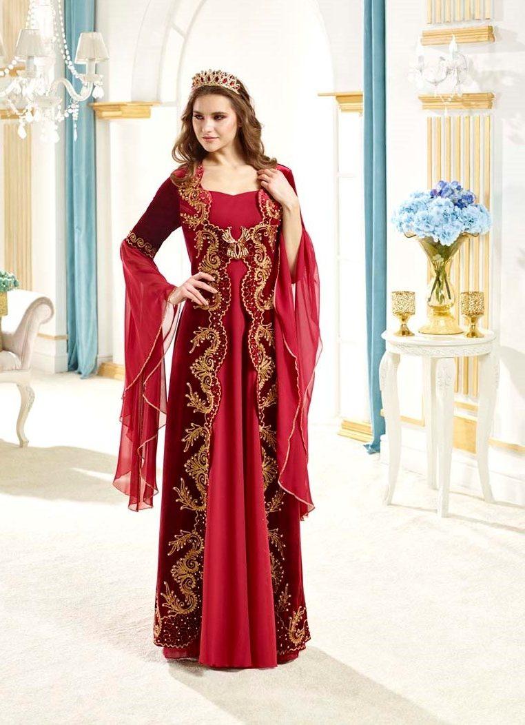 2018 kınalık elbise