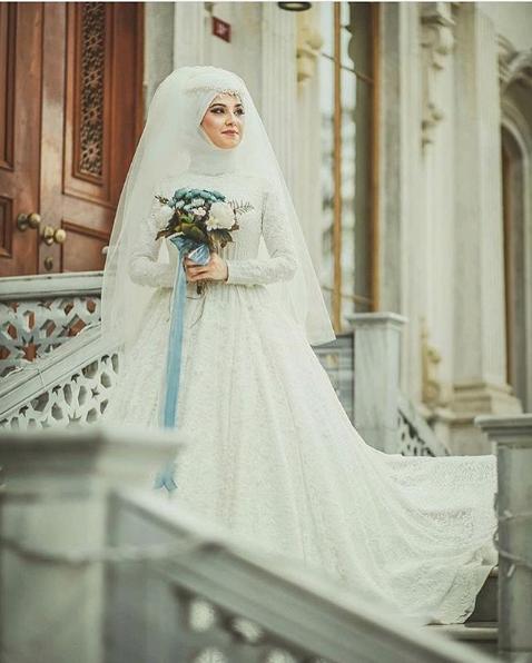 Kapalı prenses gelinlik 2018