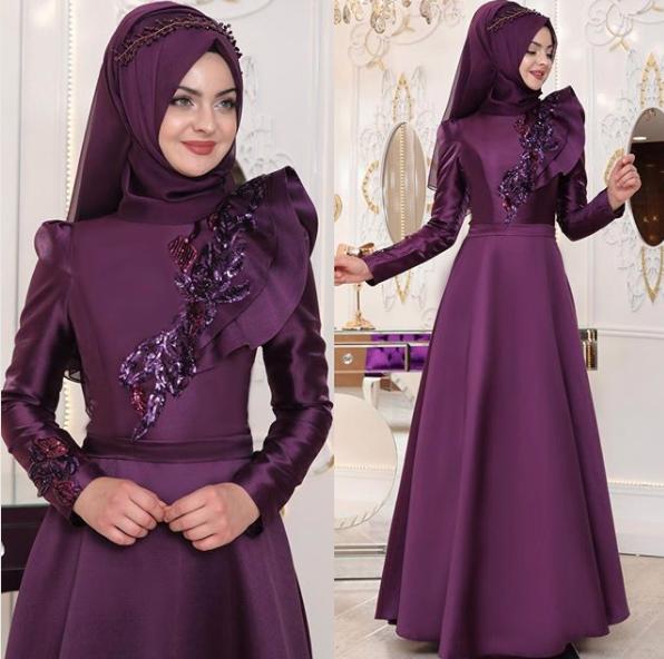 Tesettür Kına elbisesi
