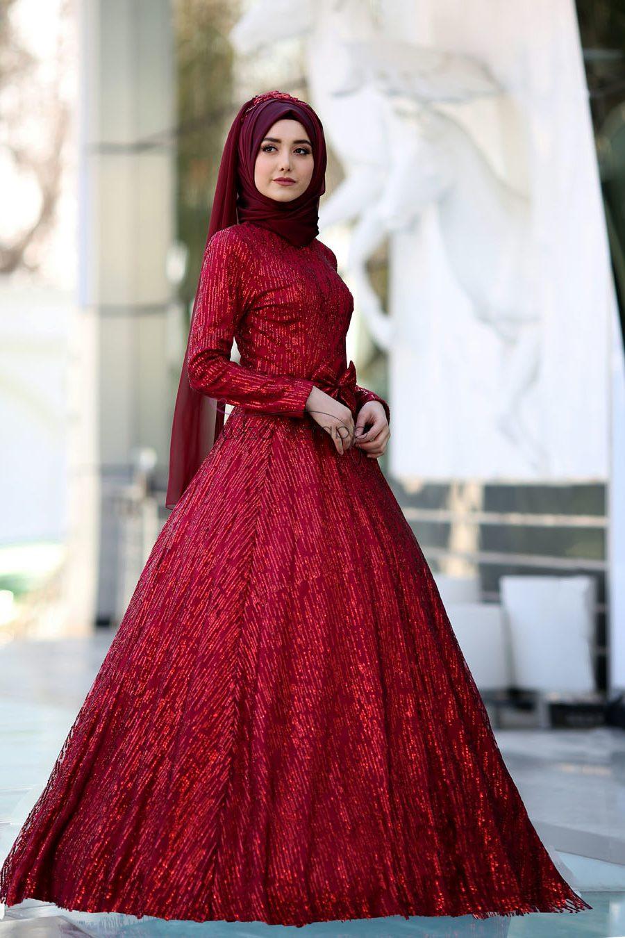 Tesettür kına kıyafetleri 2018
