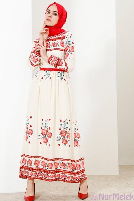 Bayramlık etnik elbise 2018