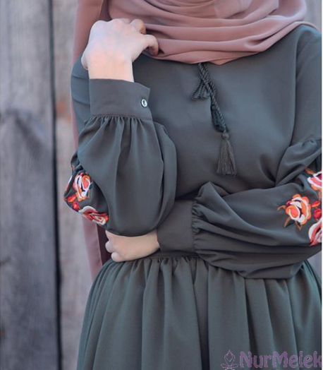 Kanaviçe tunik elbise