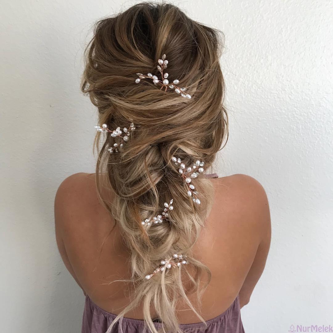 Gelinlik Saçı Modelleri 2019