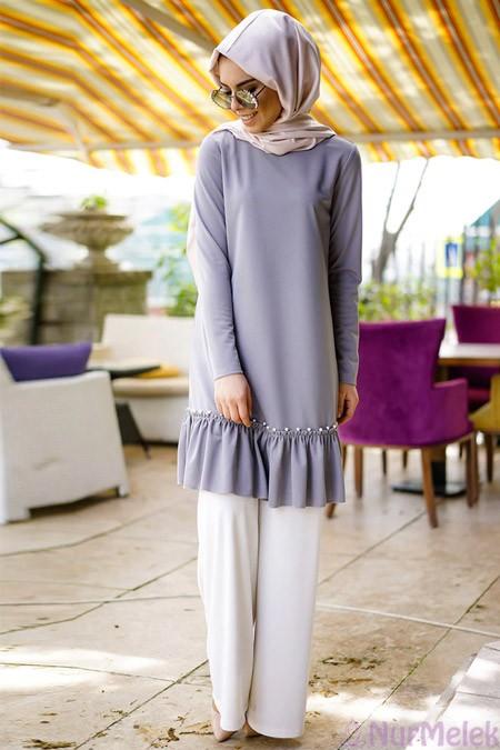 Düğünlük pantolon-bluz kombini-3