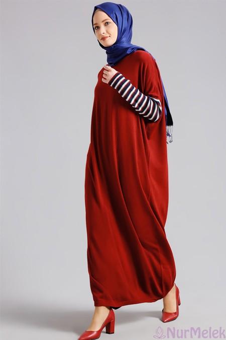 Uzun triko elbise kombinleri-12