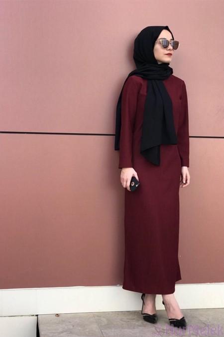 Uzun triko elbise kombinleri-15