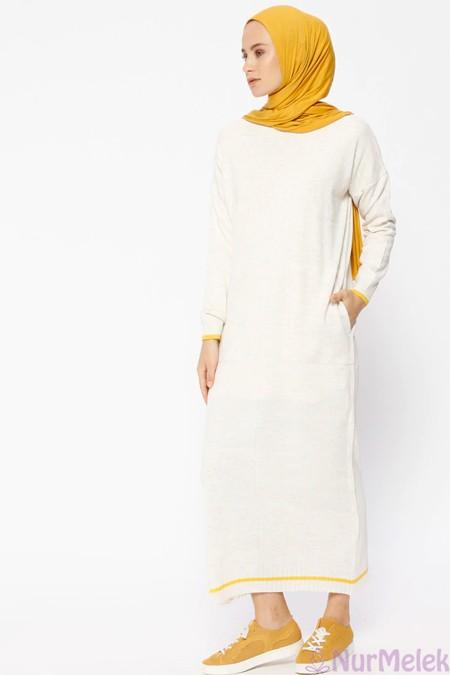 Uzun triko elbise kombinleri-2