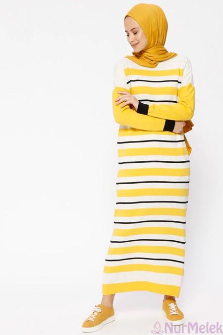 Uzun triko elbise kombinleri-4