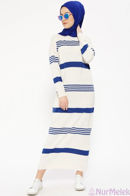 Uzun triko elbise kombinleri-6