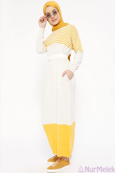 Uzun triko elbise kombinleri-7