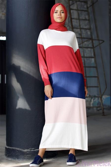 Uzun triko elbise kombinleri-9