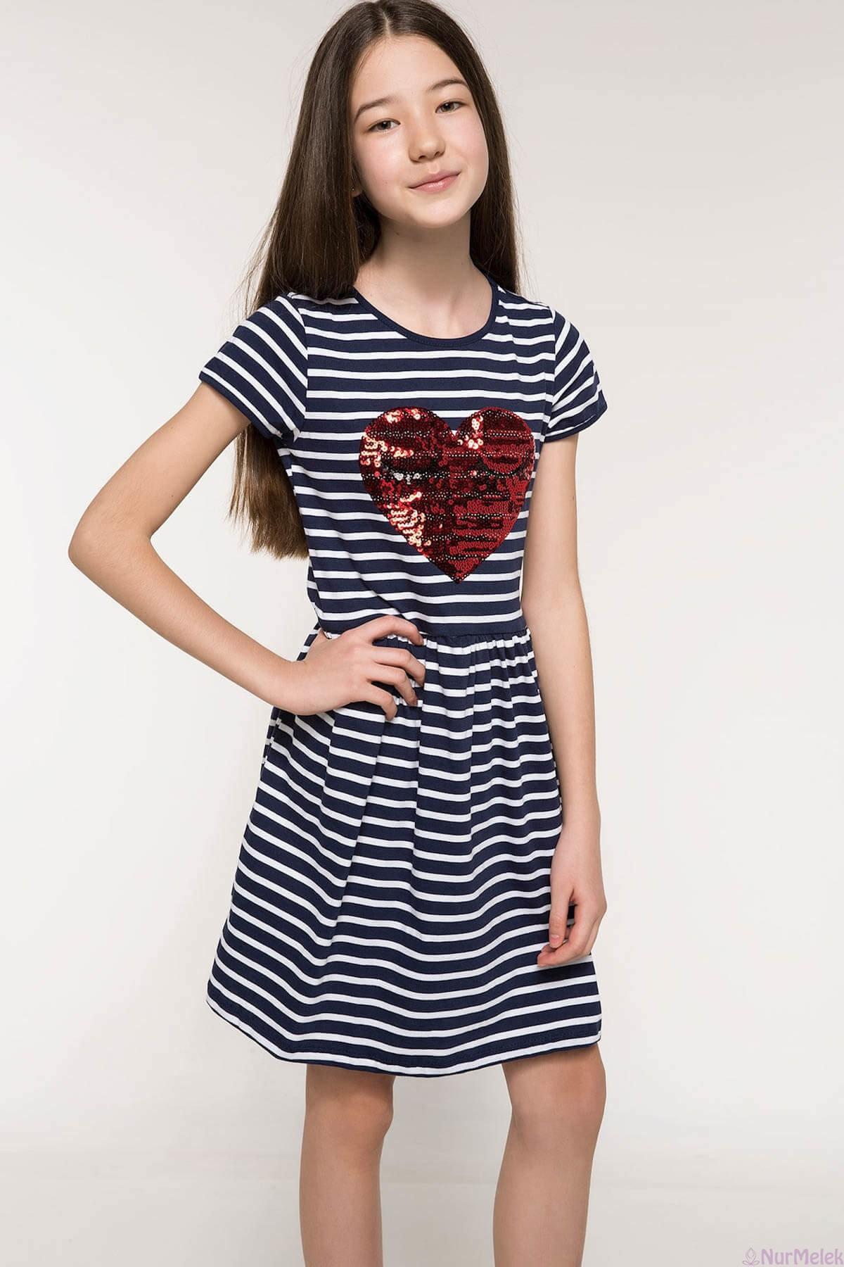 12-13-14-15 yaş kız çocuk elbisesi-4