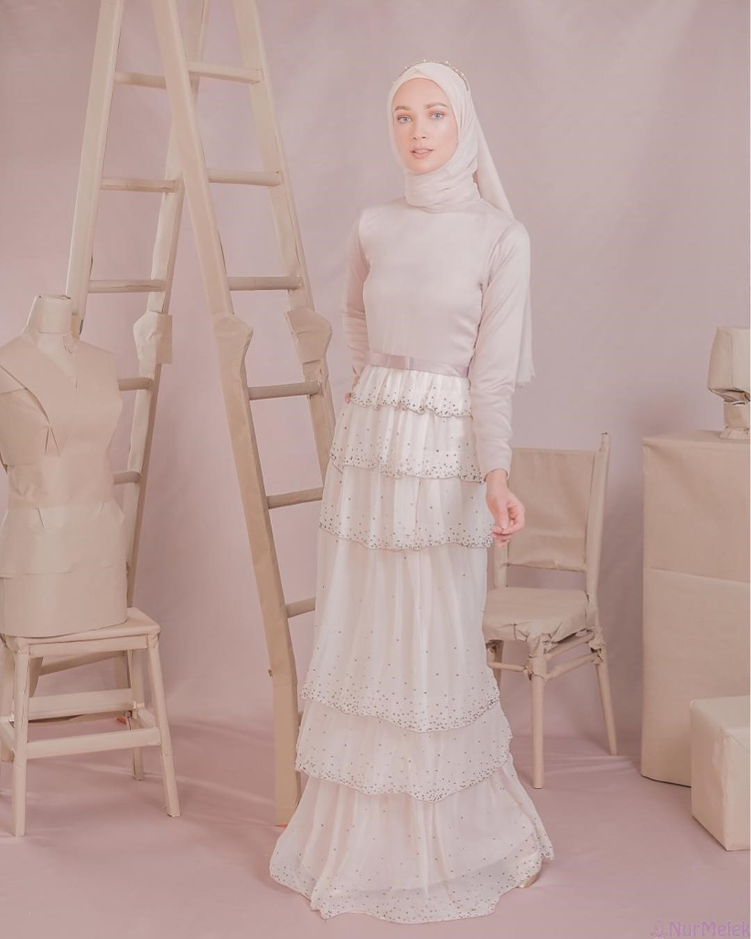 haute couture tesettür abiye-2