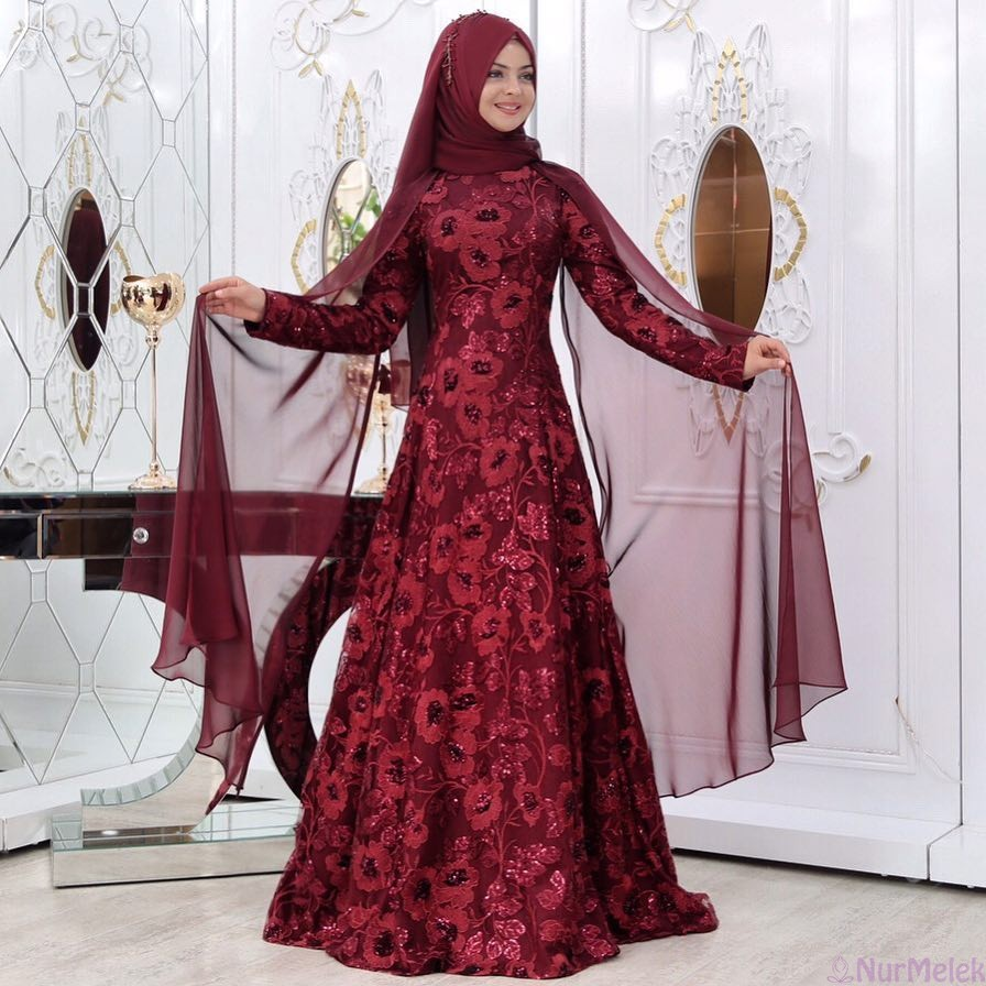 haute couture tesettür abiye-4