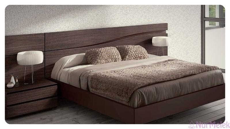 ahşap yatak odası modeli 2019