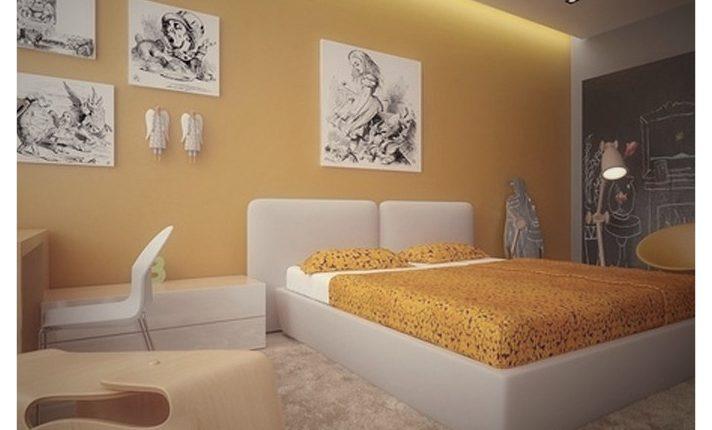 genç yatak odası modeli 2019