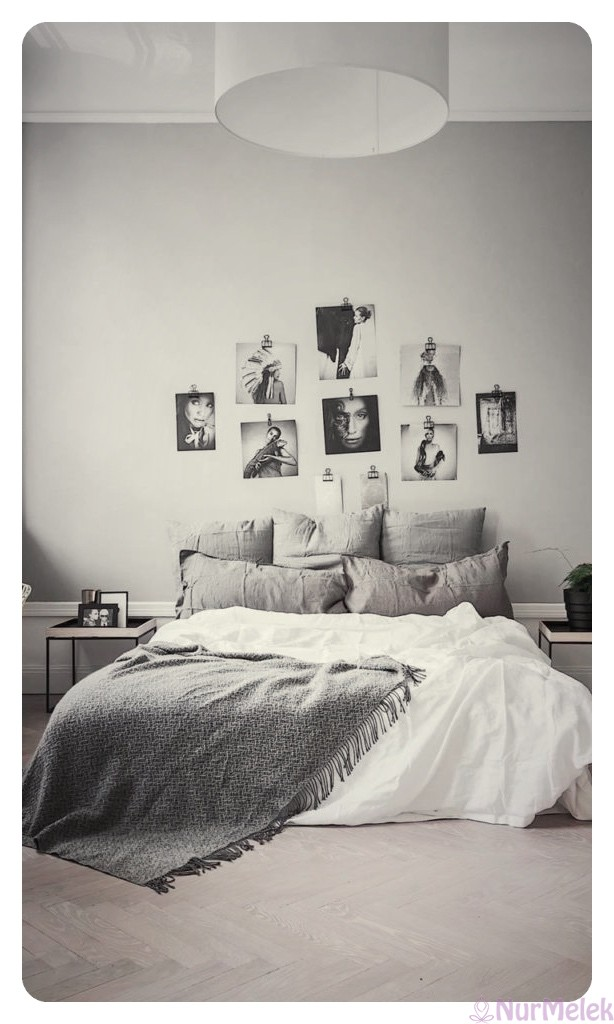 minimalist yatak odası 2019