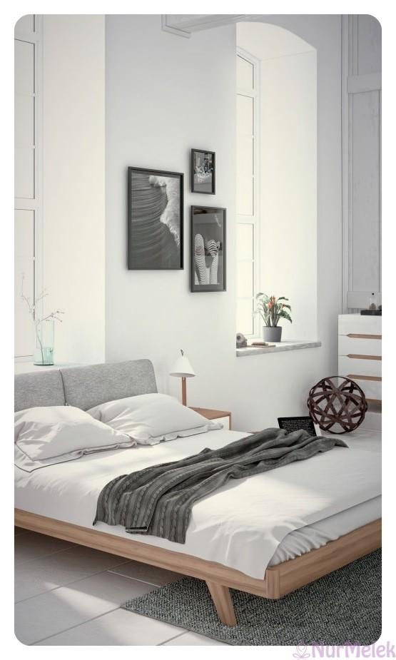 sade yatak odası 2019