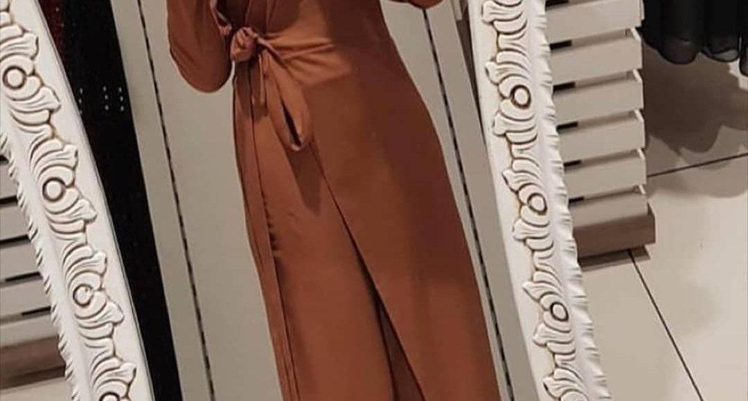 tesettür tulum elbise