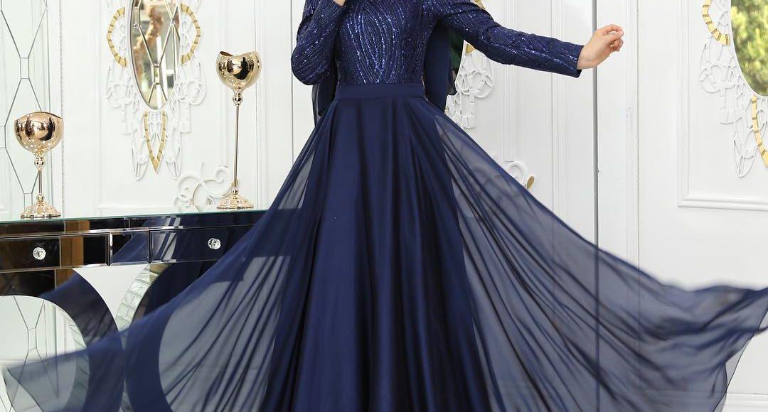 şifon tül söz elbisesi 2019