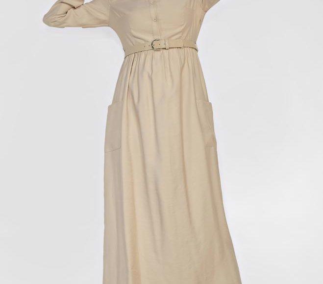 Alvina yazlık keten elbise 2019